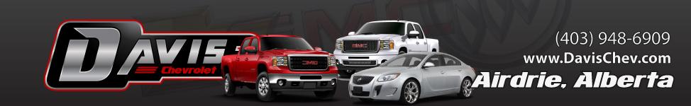 Davis Chevrolet GMC Buick Airdrie Appraisal Grid